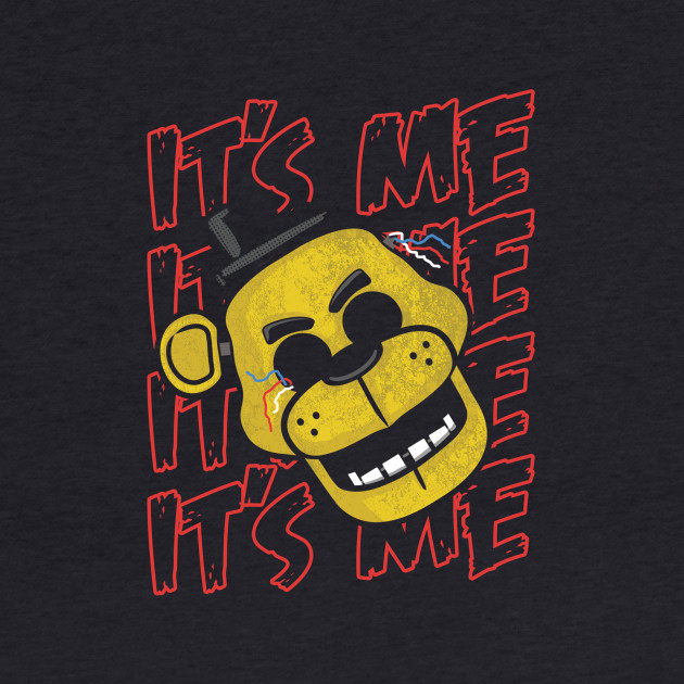 Five Nights At Freddy's It's Me Golden Freddy